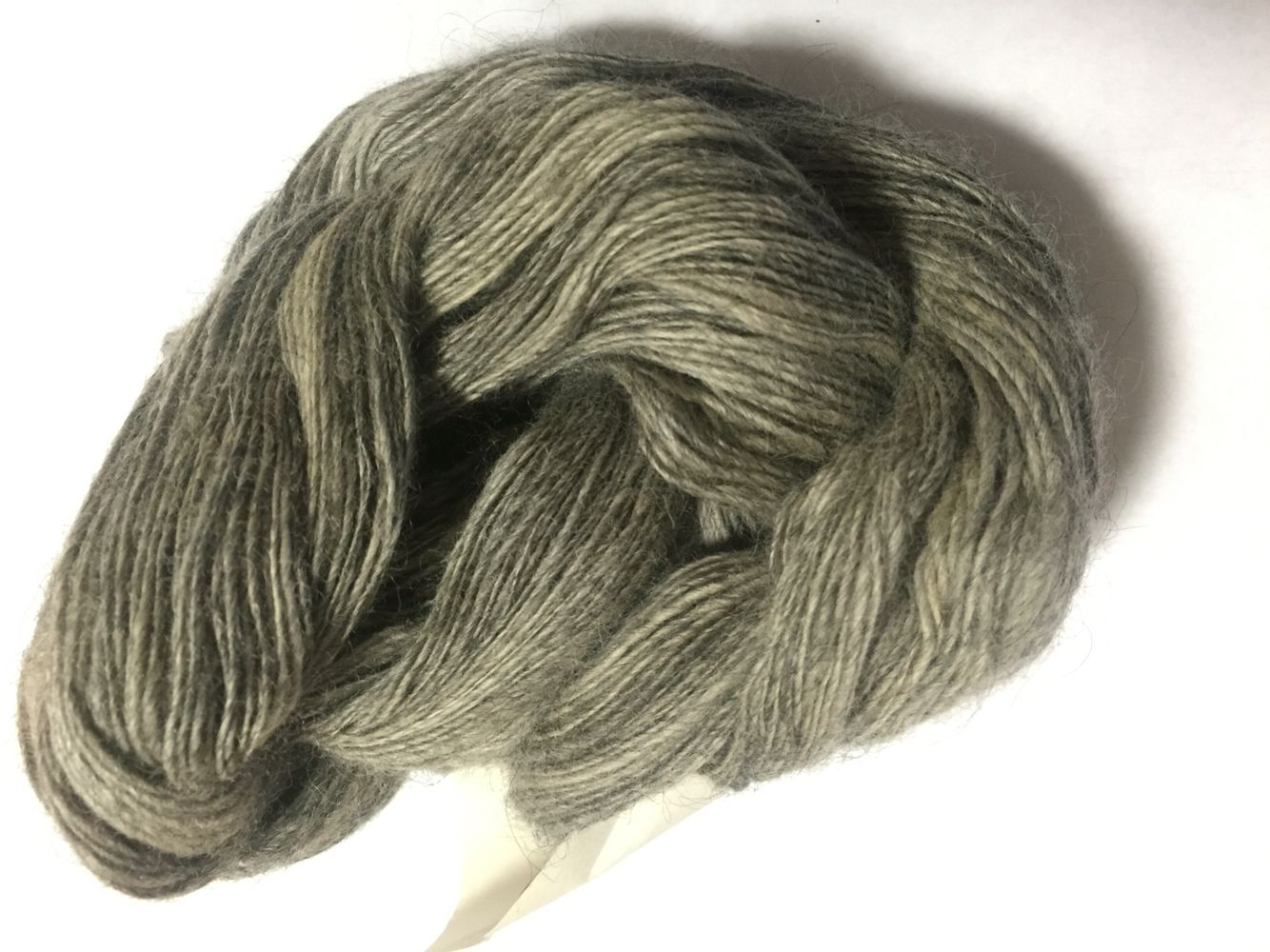 Handspun, alpaca yarn