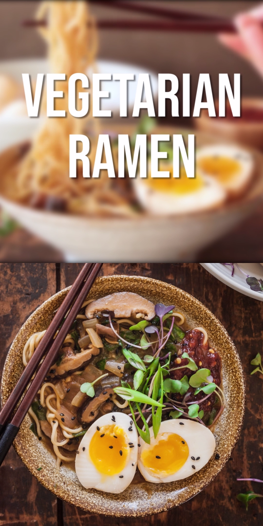 Vegetarian Ramen