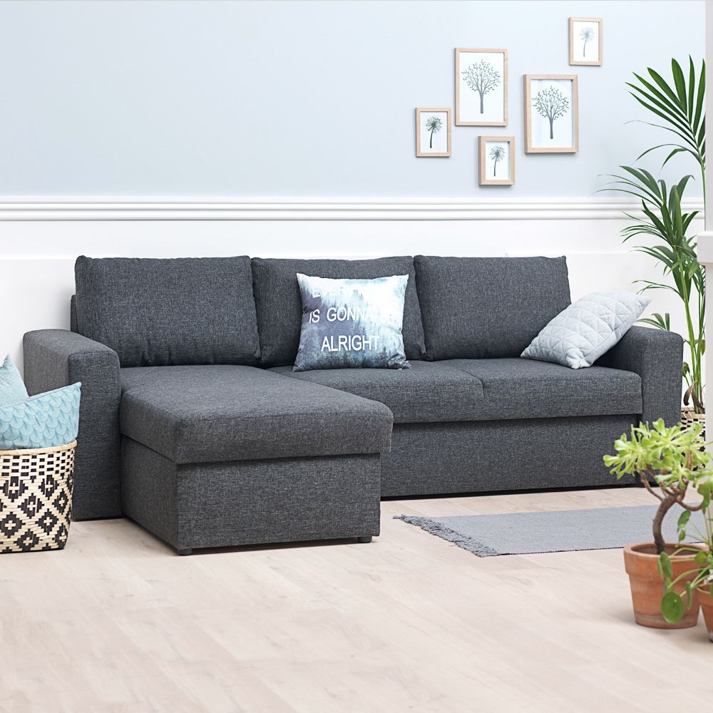 half off e9175 8b73f Vils sofa is looking sleek and comfortable in this living ...