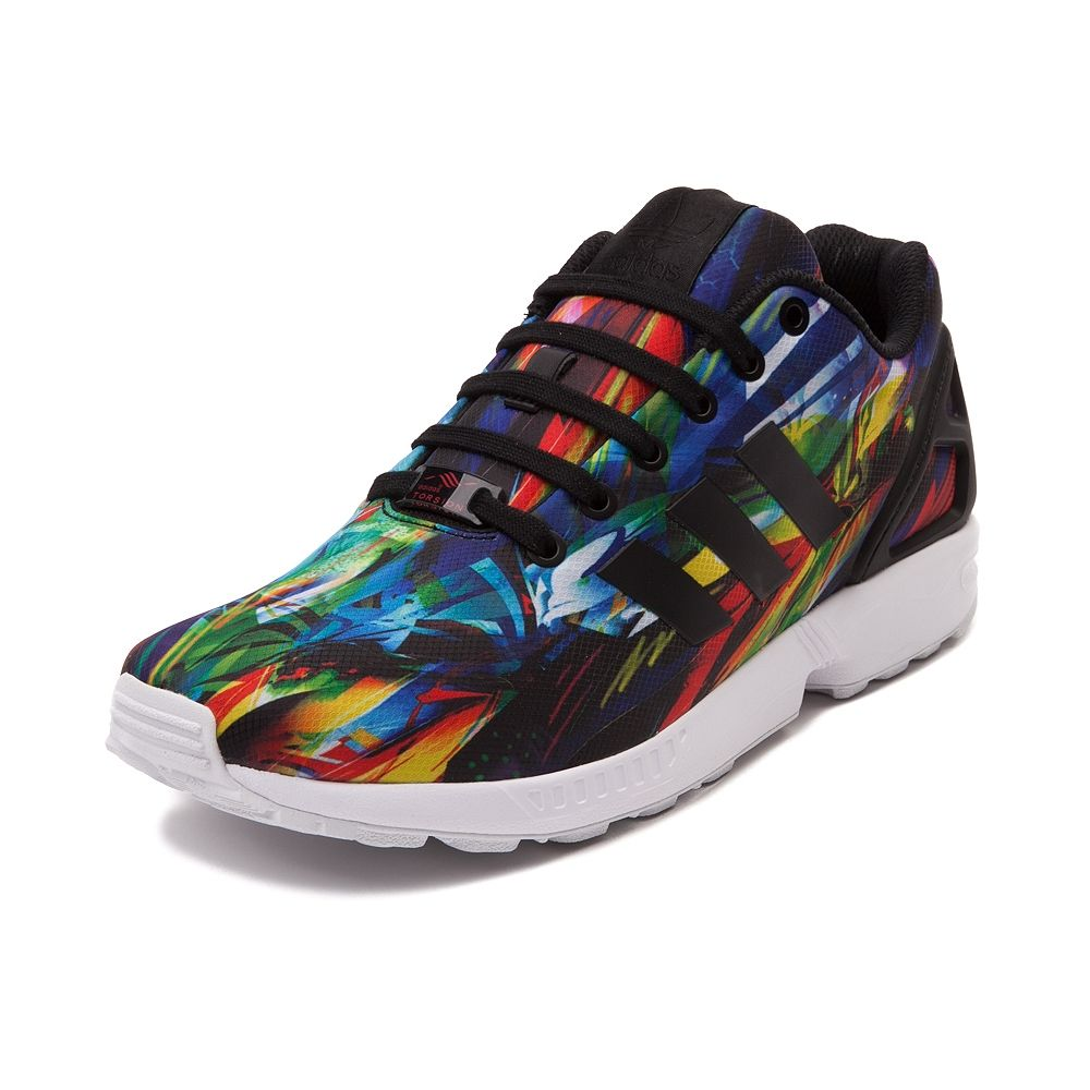 adidas Originals ZX FLUX Zapatillas Sneakers Negro Blanco para Unisex Torsion System mZwtJvW