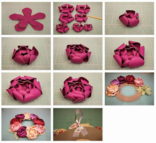 Bits of Paper: 3 Piece Scallop Vase