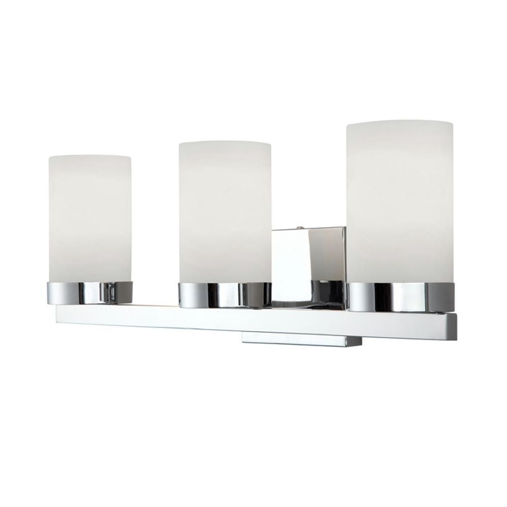light bay nickel shades home lighting vanity hampton frosted depot p the bathroom brushed with