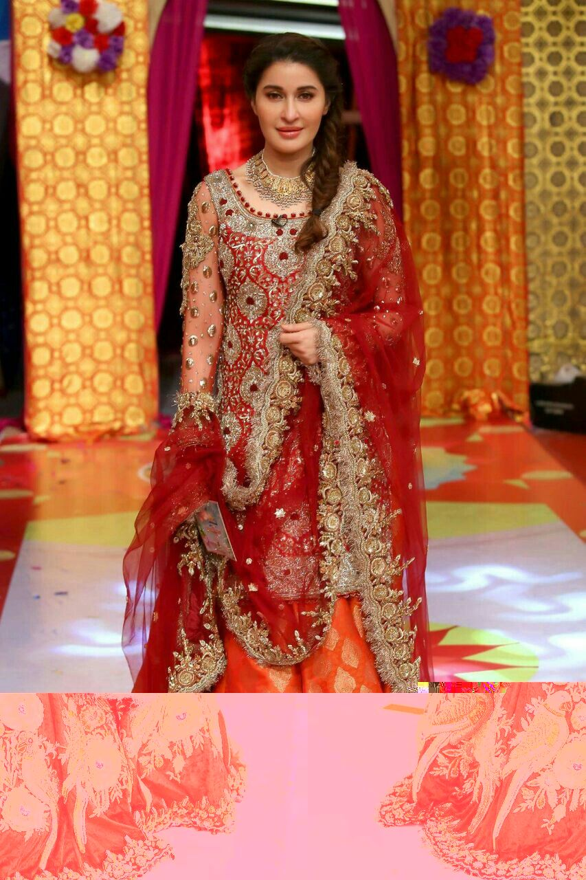 New Pakistani Wedding Dresses 2018