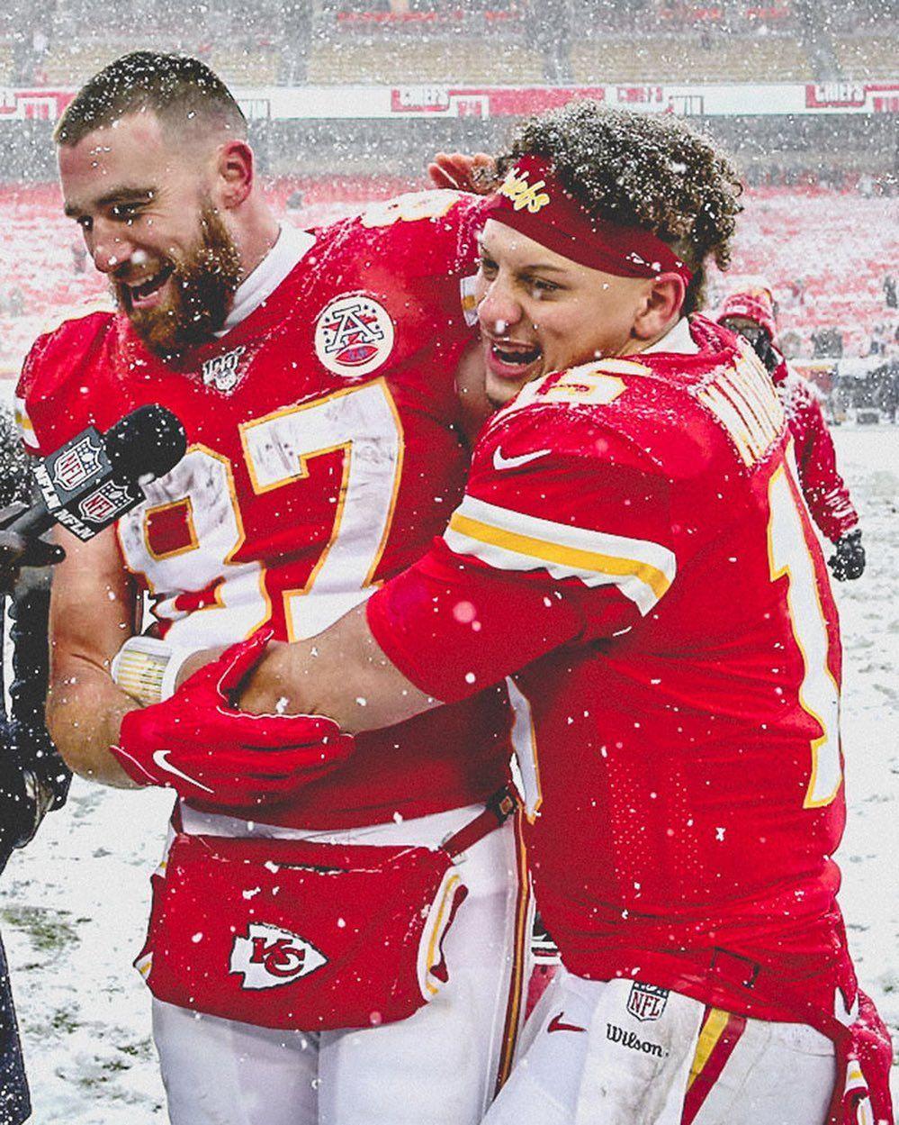 "Kansas City Chiefs on Instagram: ""#VictoryMonday hugs all around"