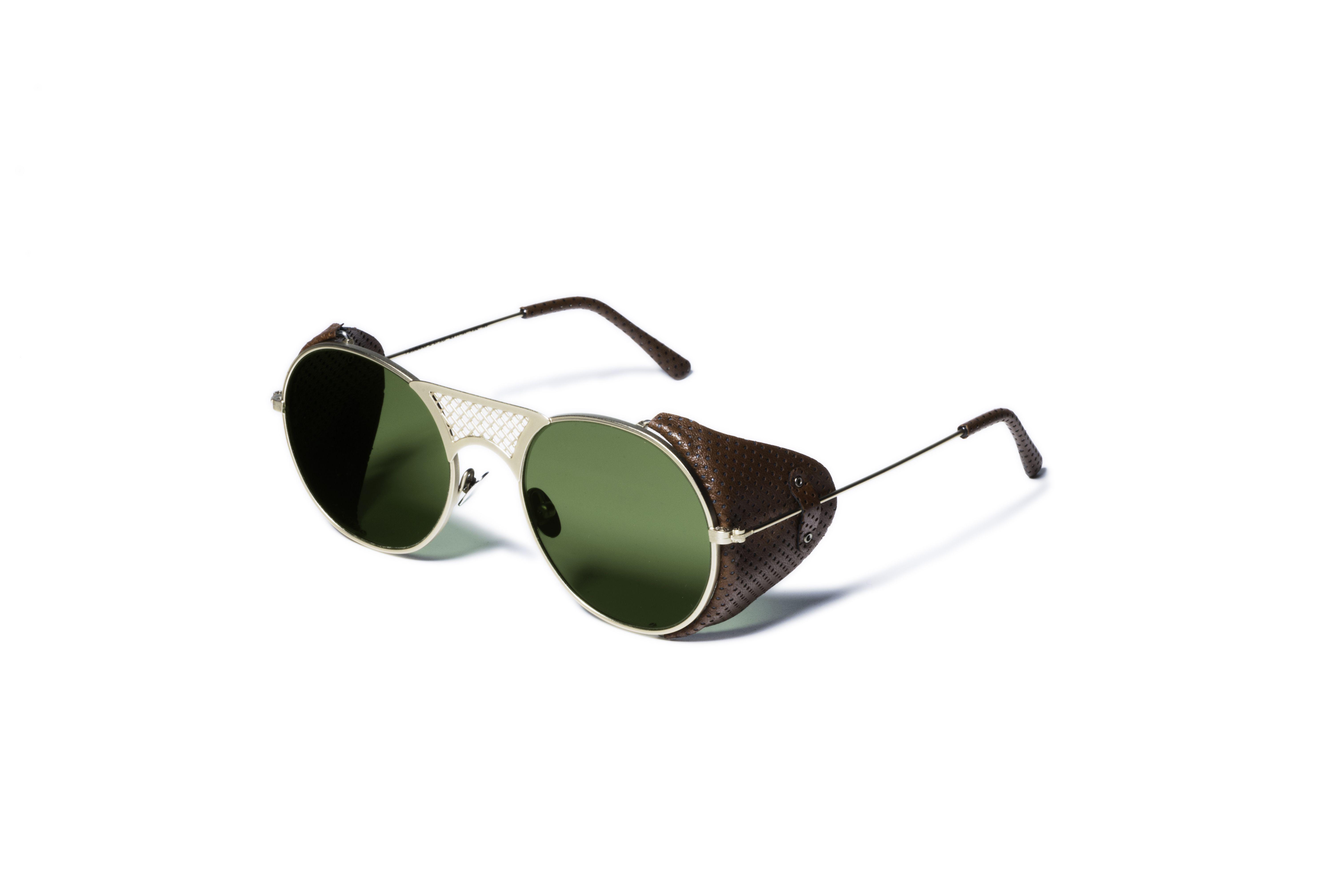 r Gold g Matt Sunglasses ModLawrence Flap L Brown cL3Rq45Aj