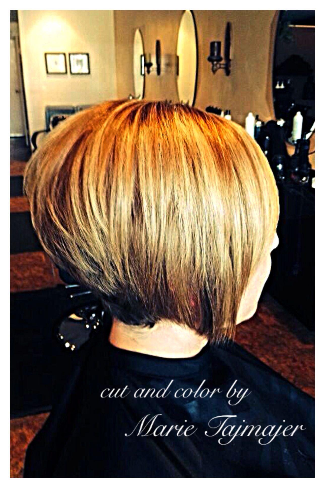 Stacked bob hair cut hair pinterest bob hair cuts stacked