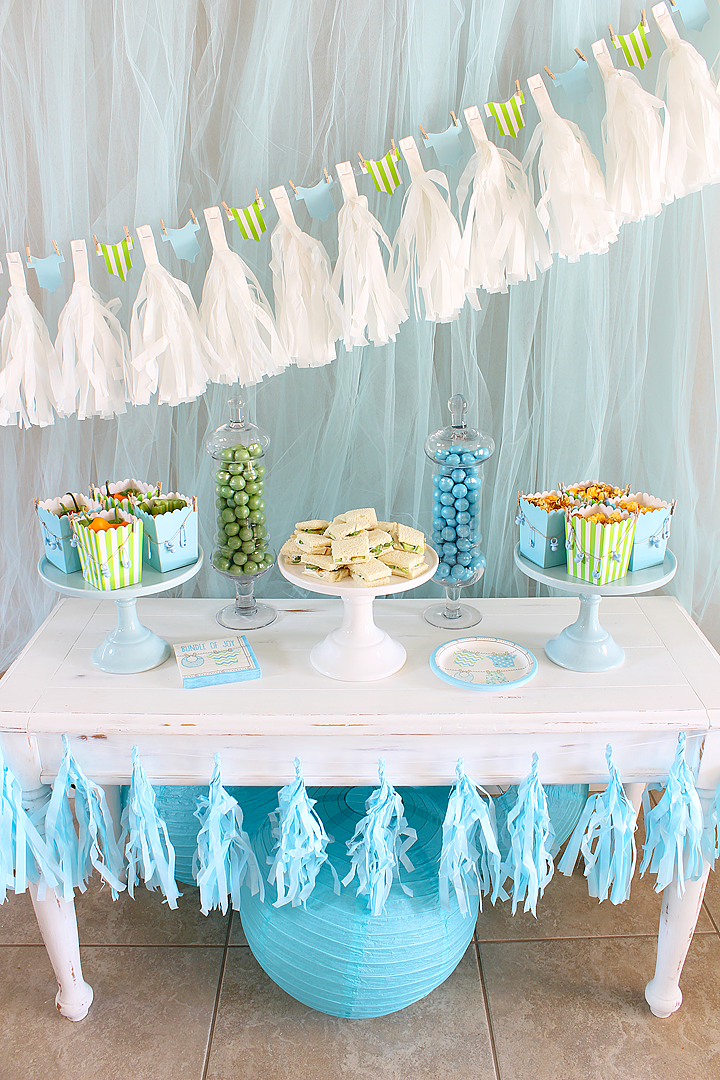 It S A Boy Baby Shower Ideas For Boys Baby Shower Luncheon