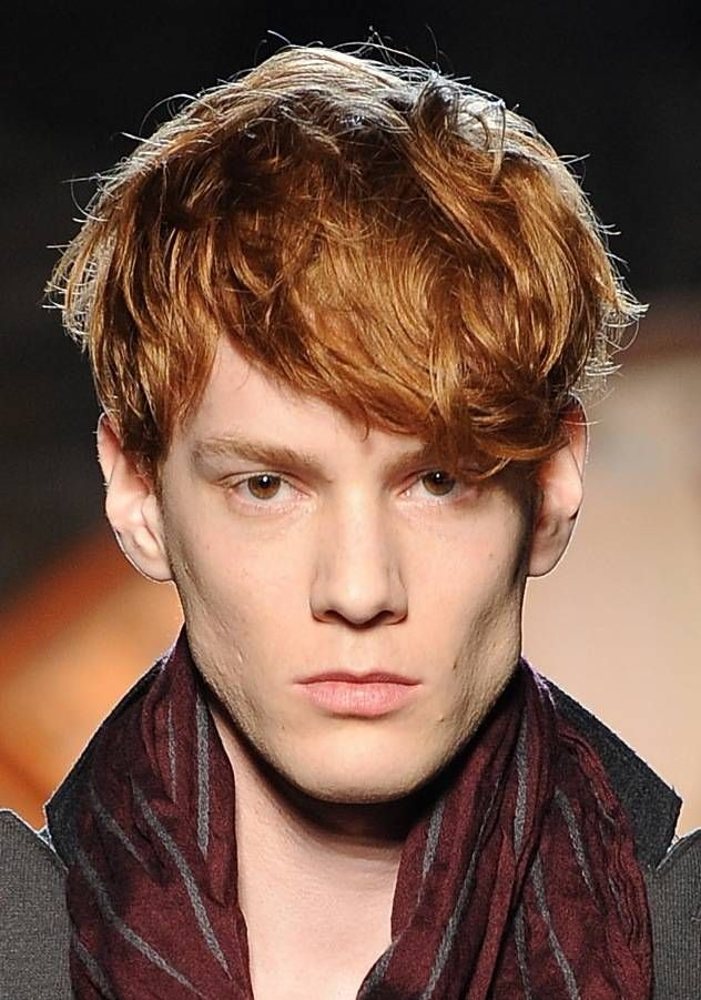 Messy Yet Stylish Hairstyles For Men Men Blonde Hair Red Hair