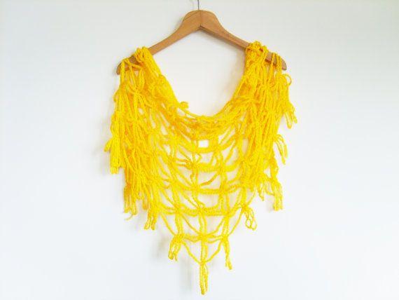 sjaal in kettingsteek