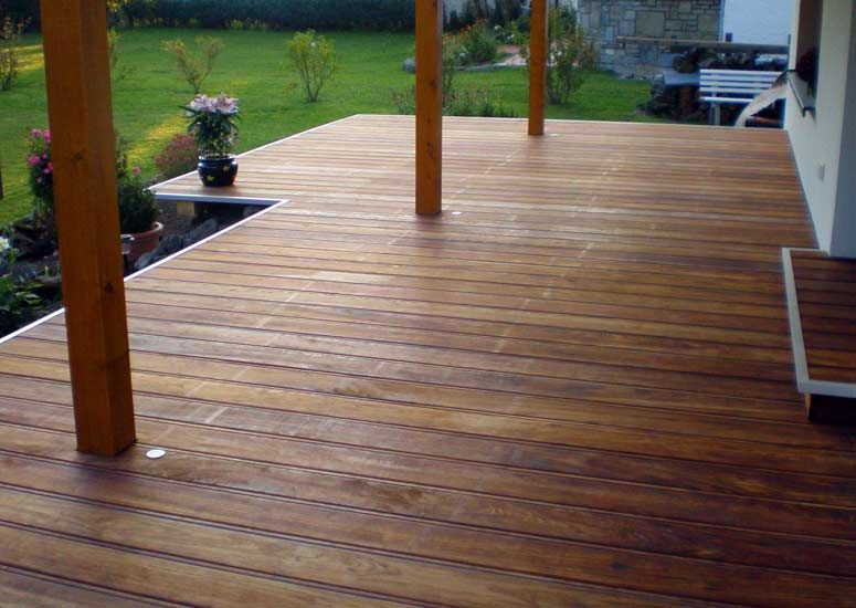 Terrasse Holz In Holz Optik Von Alpha Wing Terrace Pinterest