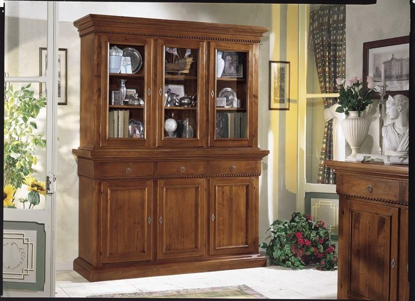 Hermosa vitrina de madera | Muebles | Pinterest