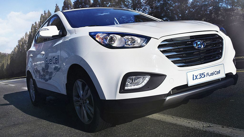 Hyundai Australia imports zeroemission ix35 Fuel Cell