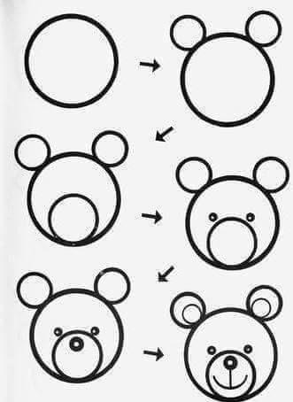 Ζωγραφικη | Art drawings for kids, Easy drawings, Drawing for kids