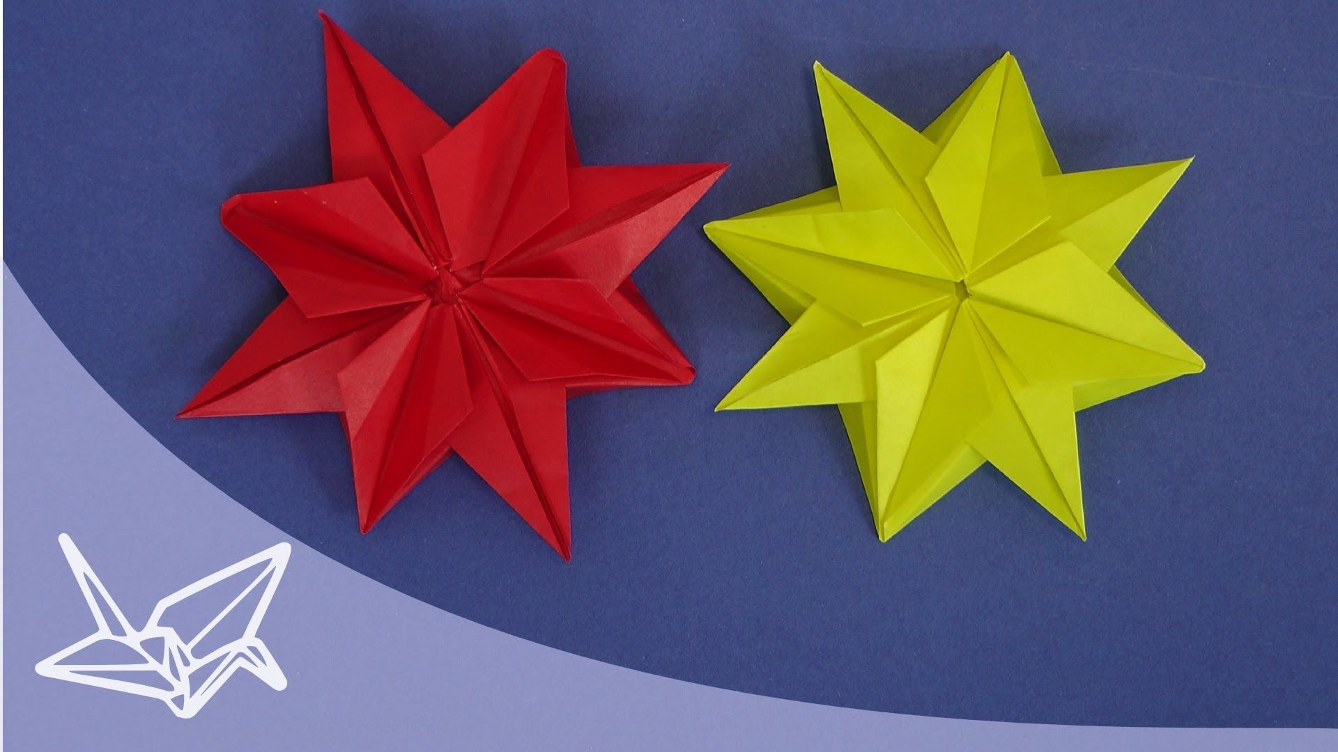 Origami Christmas Star Instructions Origami Sterne