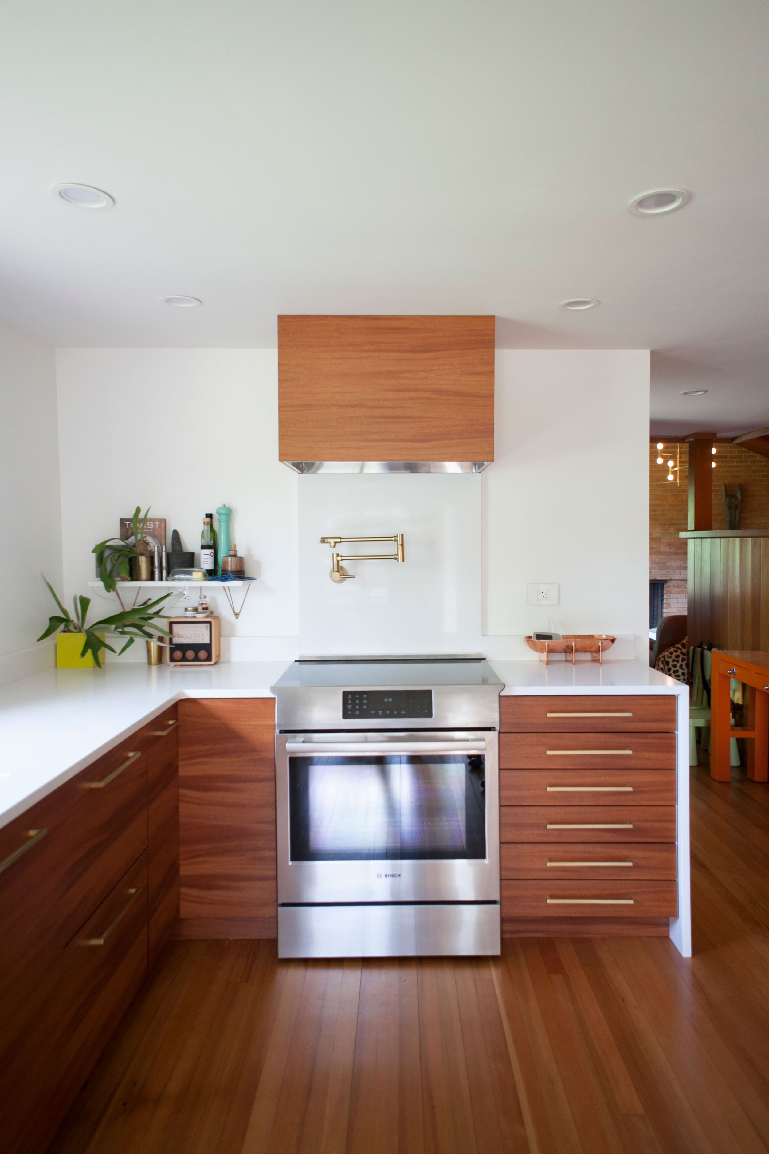 Kitchen Designers Portland Oregon Michelle & Jeff's Chic & Playful Blend  Minimalist Modern