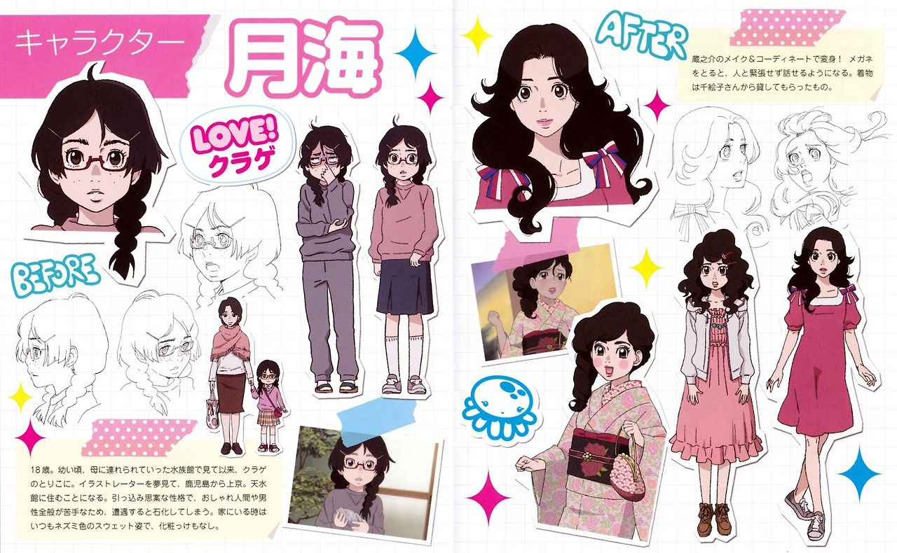 Princess Jellyfish Fashion Princess Jellyfish Jellyfish Anime