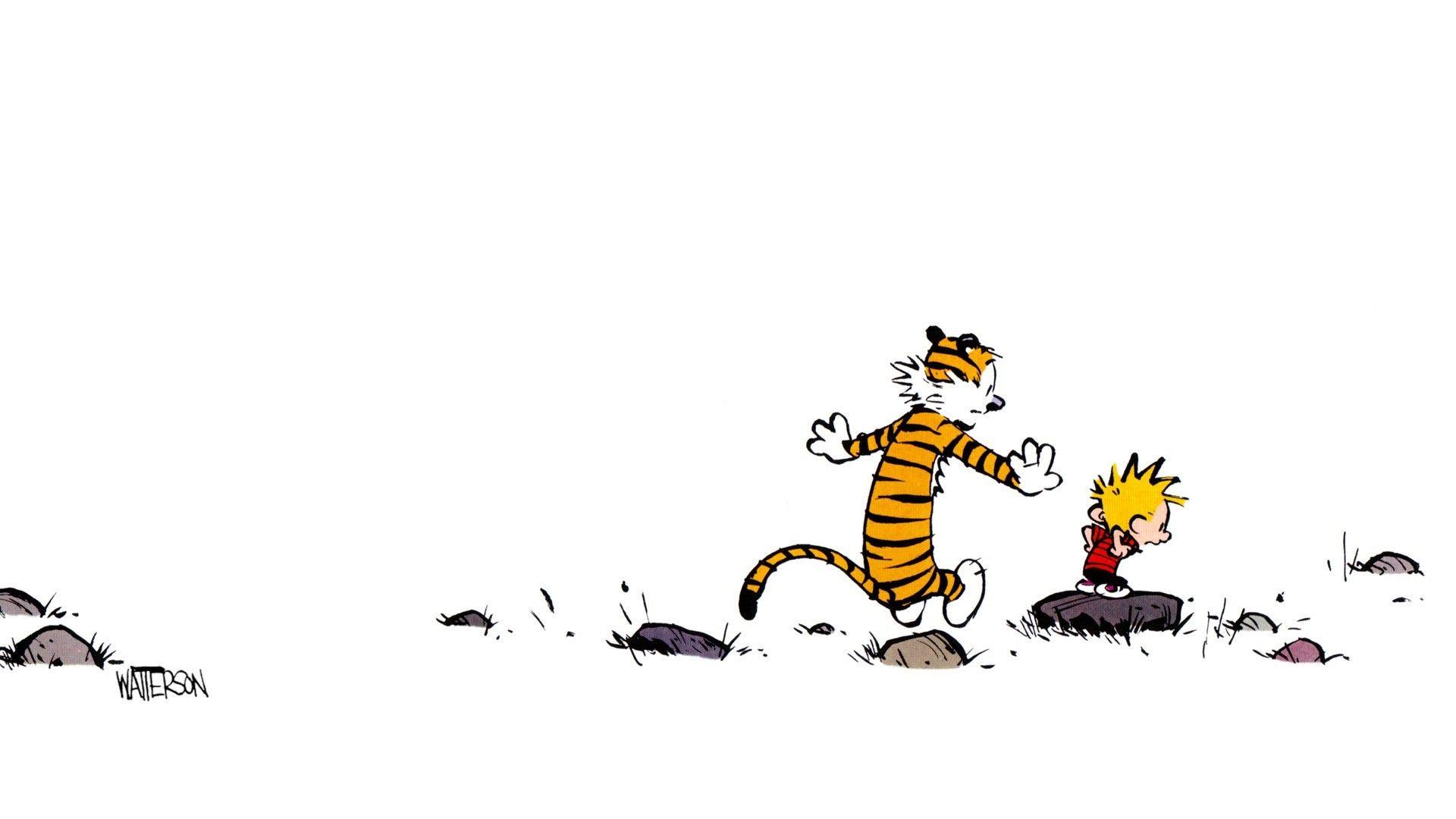 Calvin And Hobbes 2710576 1920x1080 Jpg 1 920 1 080 Pixels