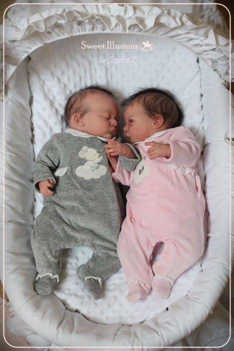 Legler Zwillinge Lindea Noa Lifelike Baby Dolls