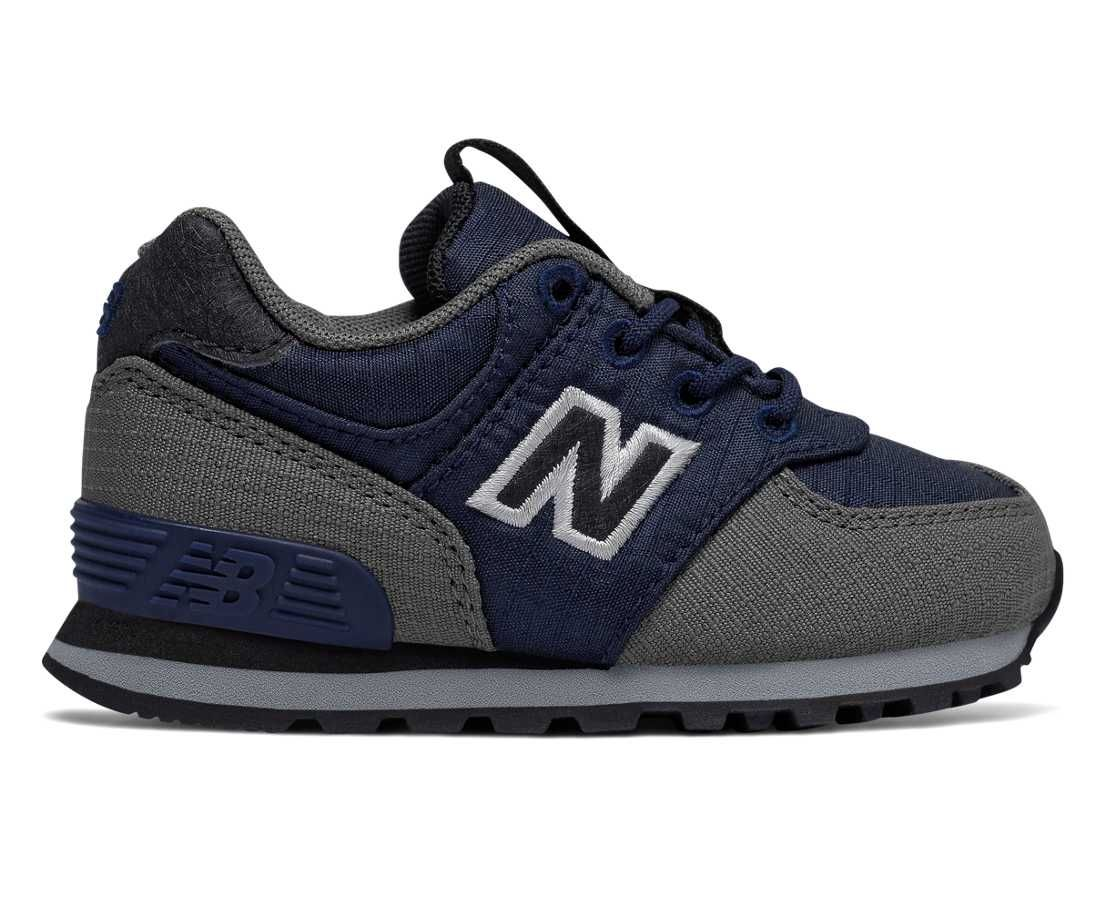 574, Navy with Grey Boy uggs, Shoes, New balance sneaker
