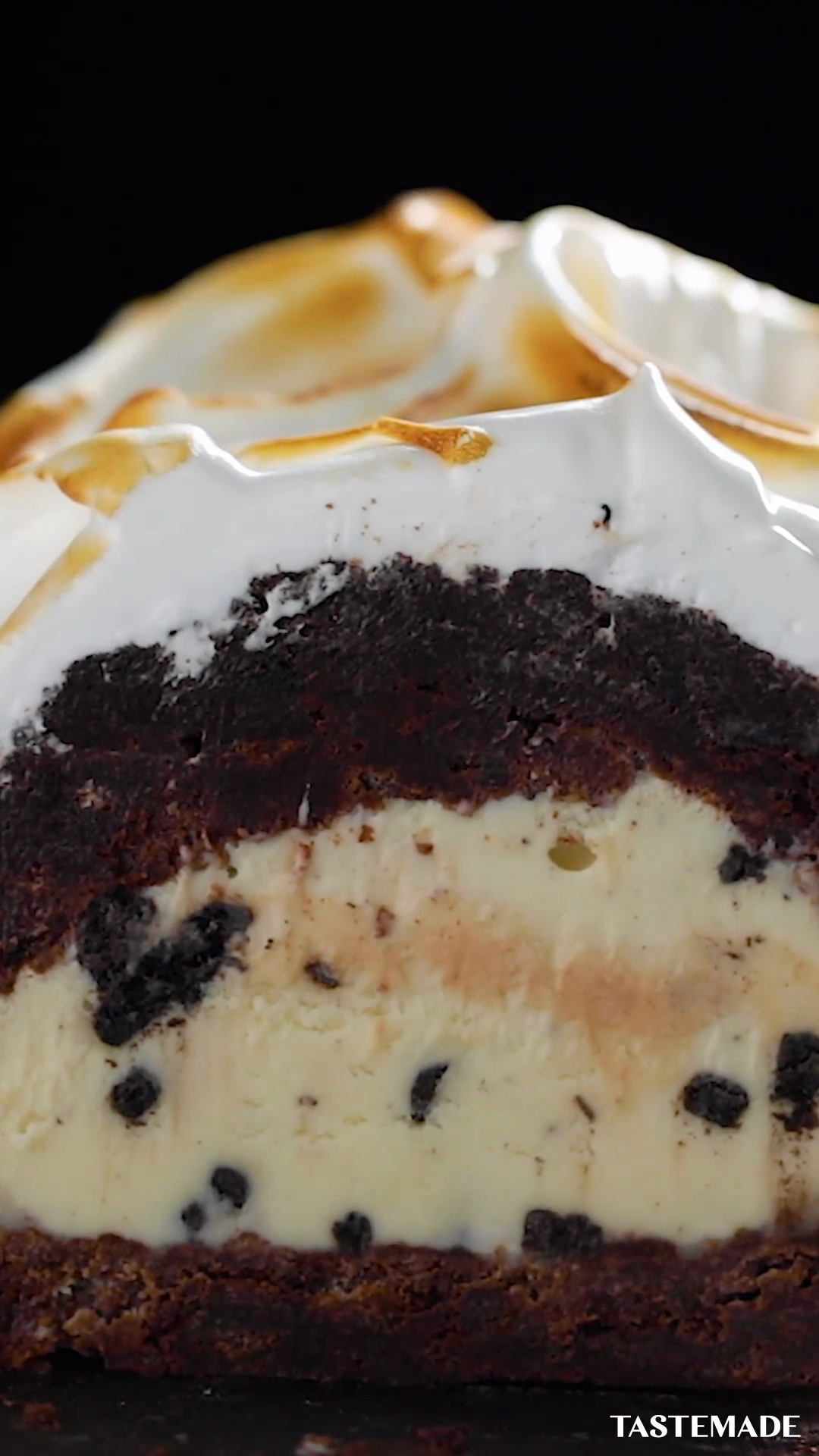 Photo of Cookies N Cream Baked Alaska