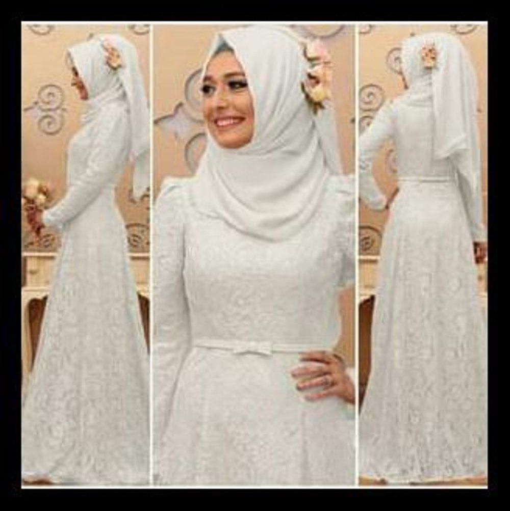 Baju Gamis Warna Putih Terbaru di 10  Hijab, Warna, Wanita