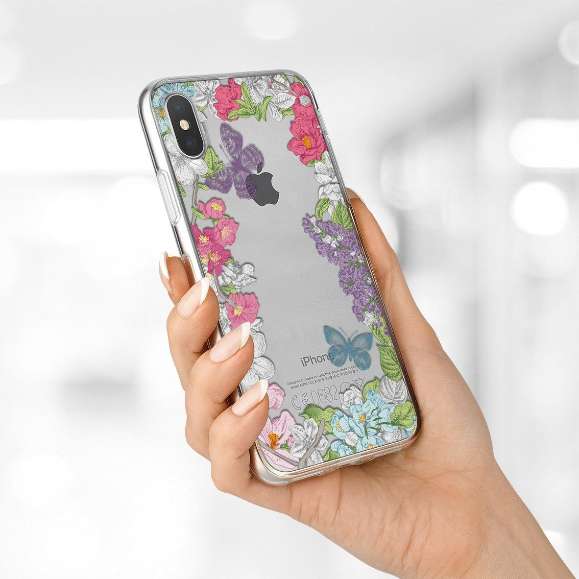 Butterfly iphone xs max case iphone 8 plus case galaxy a8