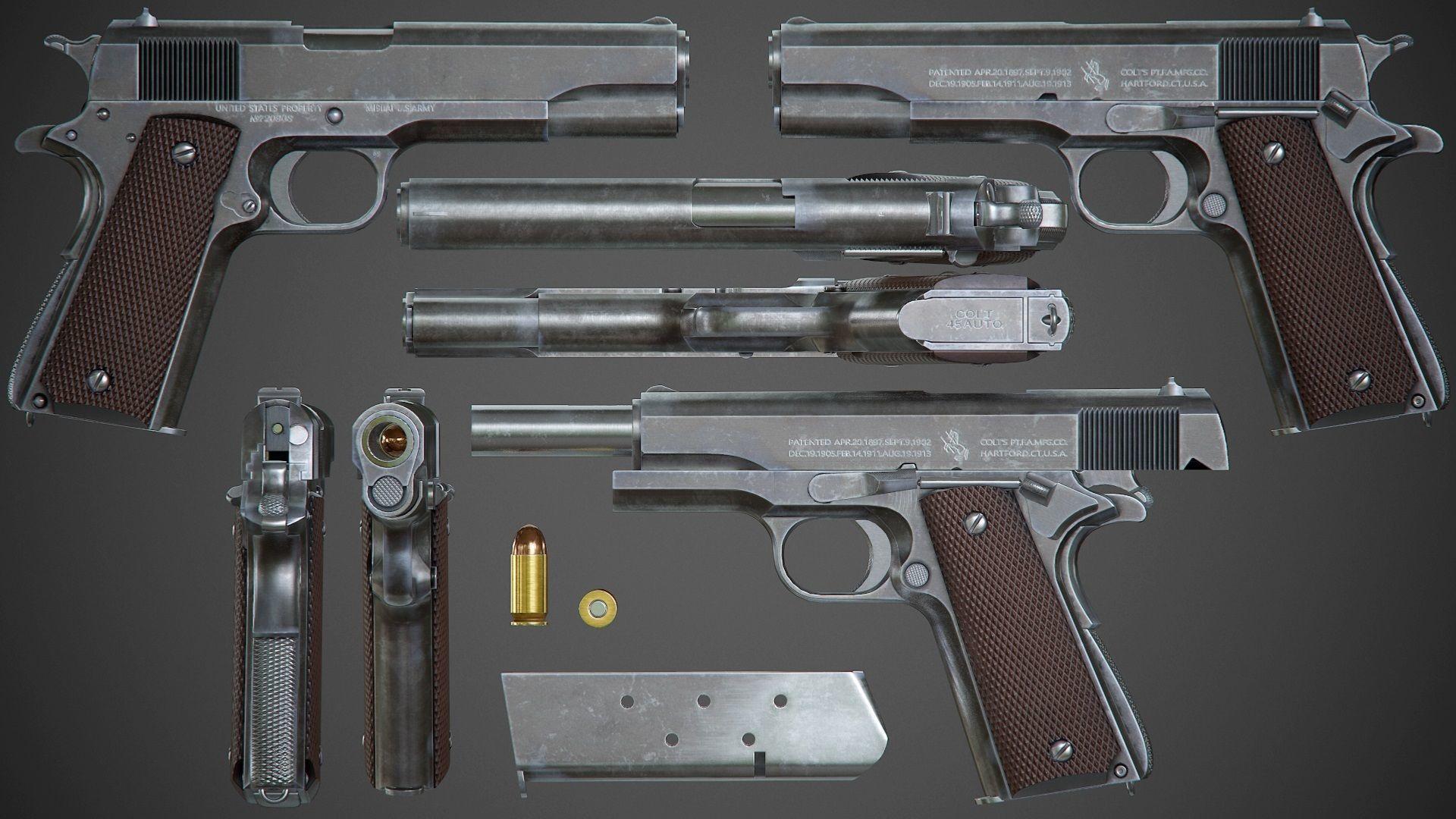 Pin em Le pistolet Colt Combat Commander en 45 acp