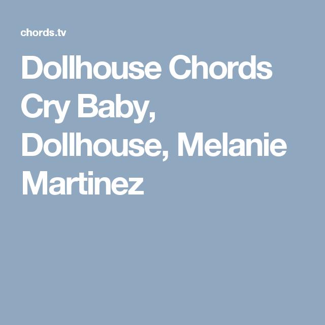 Dollhouse Chords Cry Baby Dollhouse Melanie Martinez Ukulele
