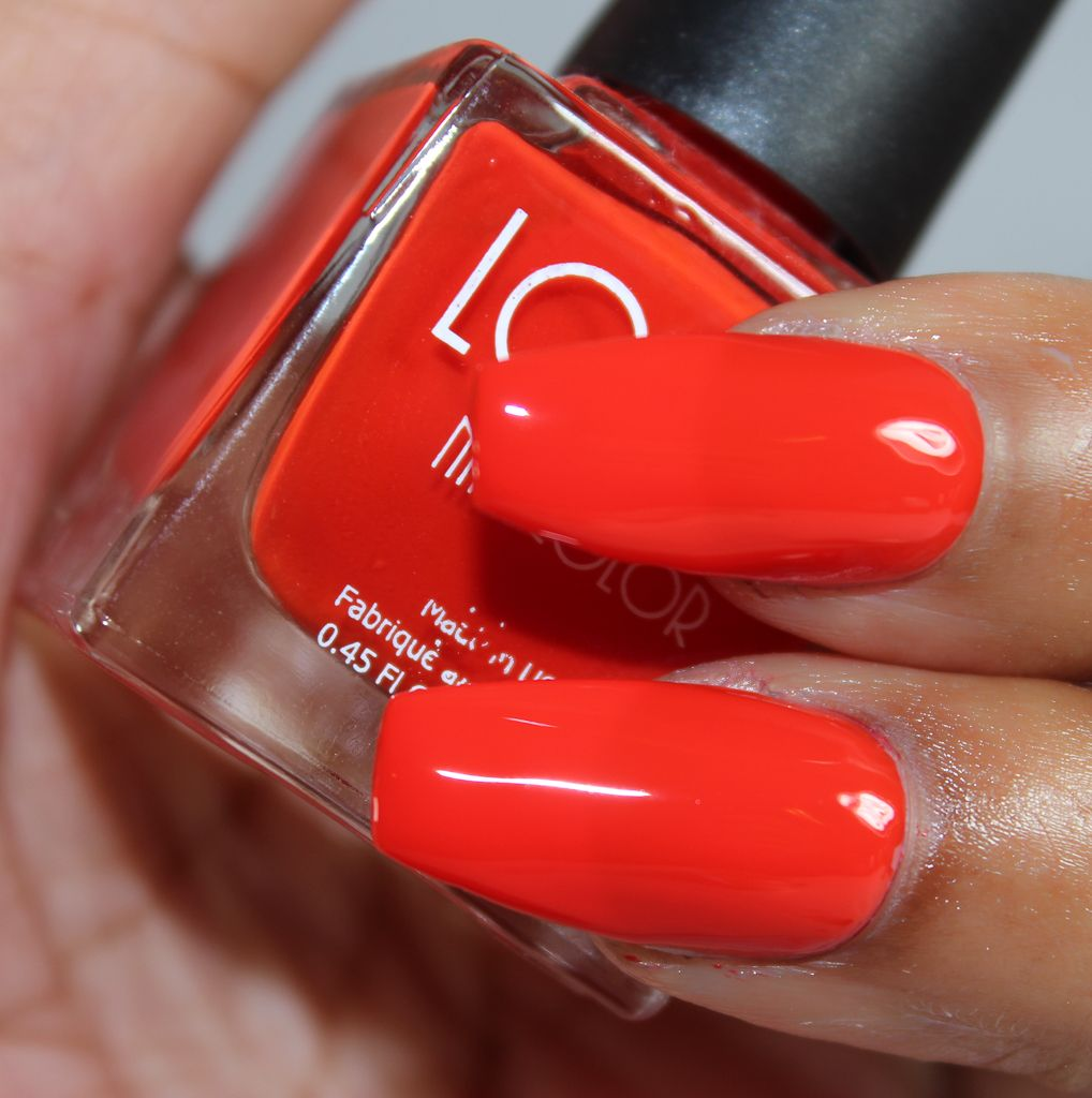 look nail color fire it up-2 | Nail Art | Pinterest
