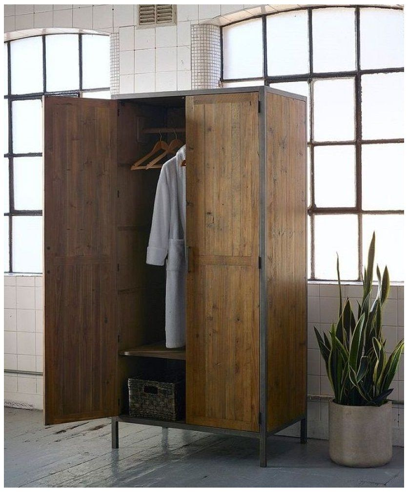 52 Wardrobe Designs You Can Try To Store All Your Clothes Actually Modular Wardrobe D In 2020 Industrial Style Bedroom Wardrobe Furniture Industrial Bedroom Furniture