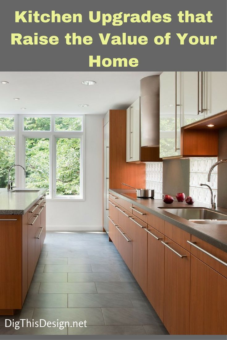 Kitchen Improvements How To Increase The Value Of Yours Dig This Design Kitchen Flooring Modern Kitchen Flooring Modern Kitchen Tile Floor