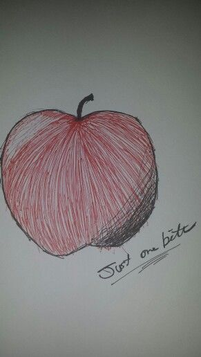' Just one bite' snow white inspired apple by the one and only me! :)