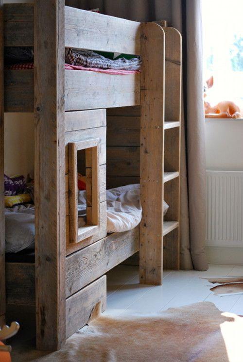 Amazing Wooden Bunk Beds On Designsponge Wooden Bunk Beds Cool