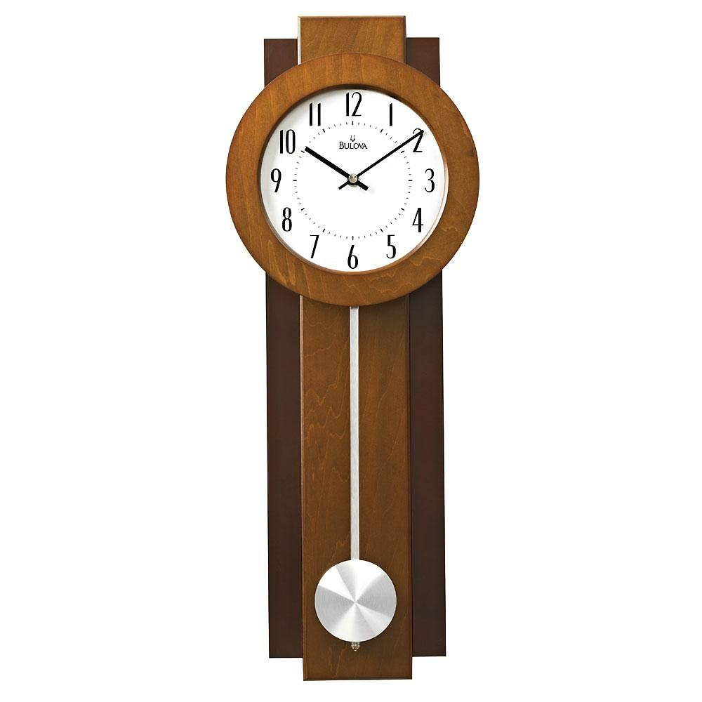 Reeds jewelers bulova avent pendulum wall clock 100 cool reeds jewelers bulova avent pendulum wall clock 100 amipublicfo Images