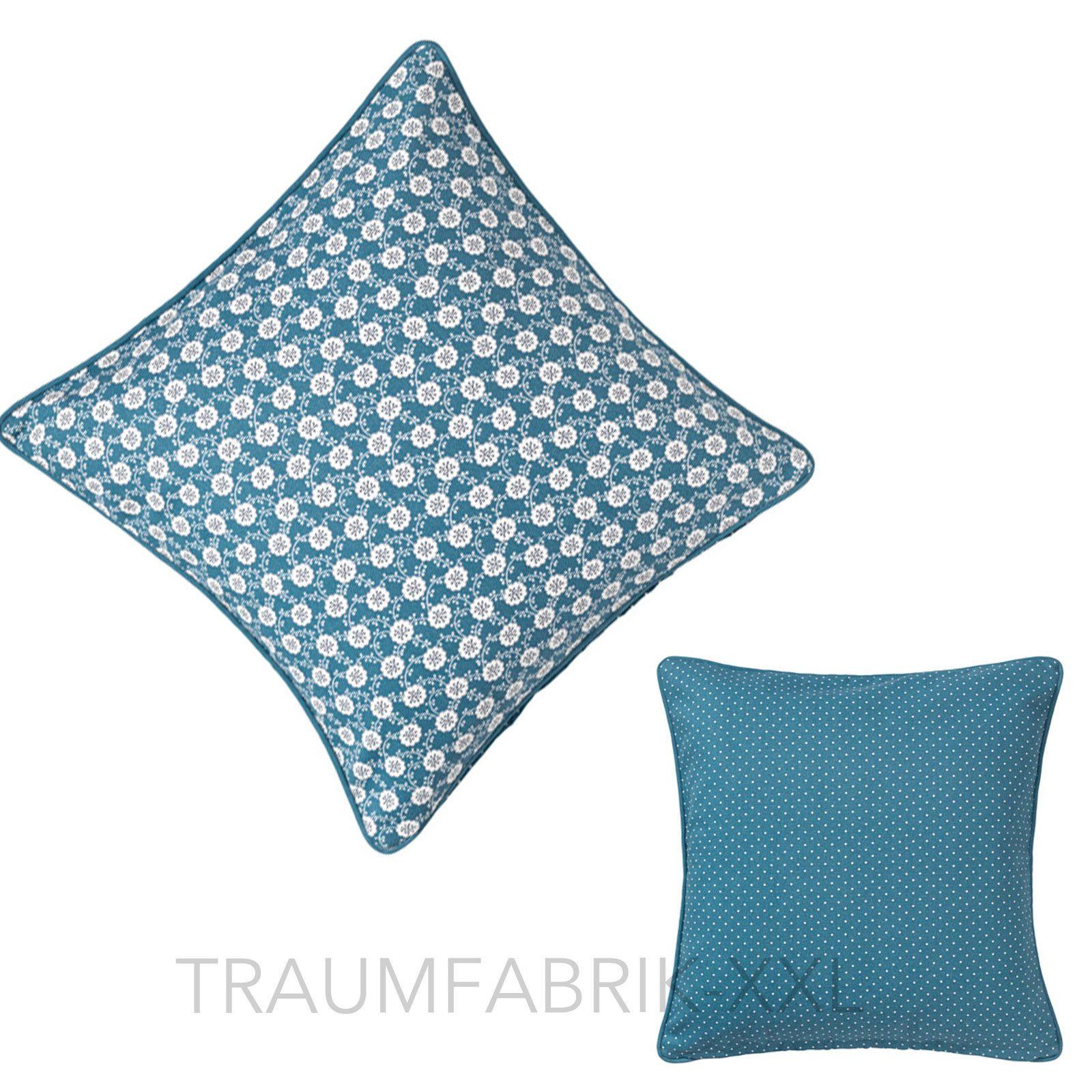 Ikea Lovkoja Kissenhulle Blau Dekokissen Kissenbezug 50x50 Cm