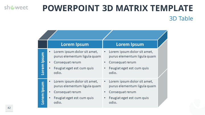 Matrix templates for powerpoint charts diagrams for powerpoint free 3d matrix for powerpoint with 3d table templates for powerpoint diagram charts maxwellsz