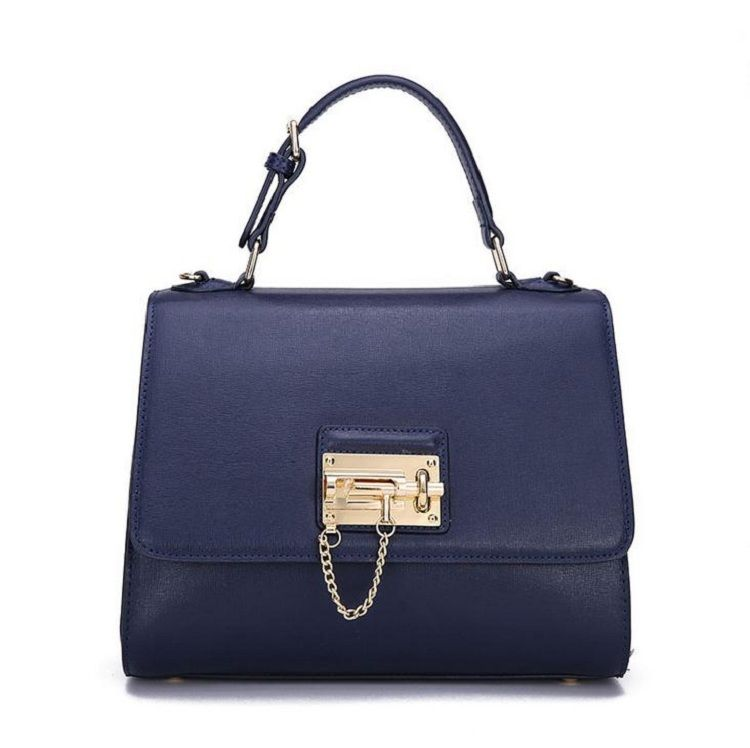 Genuine Leather Pg Handbags With Locks Lady Fashion Bags