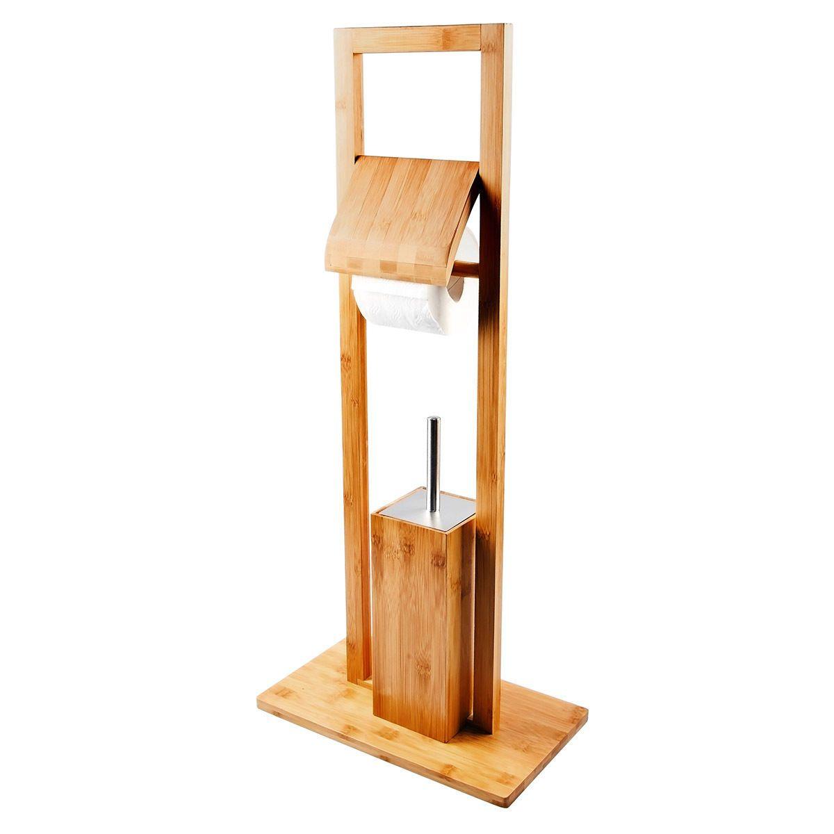 Kloburste Wc Stander Standgarnitur Toilettenburste Wc Garnitur Set Bambus Bad Ebay Wc Garnitur Wc Garnitur Set Bambus
