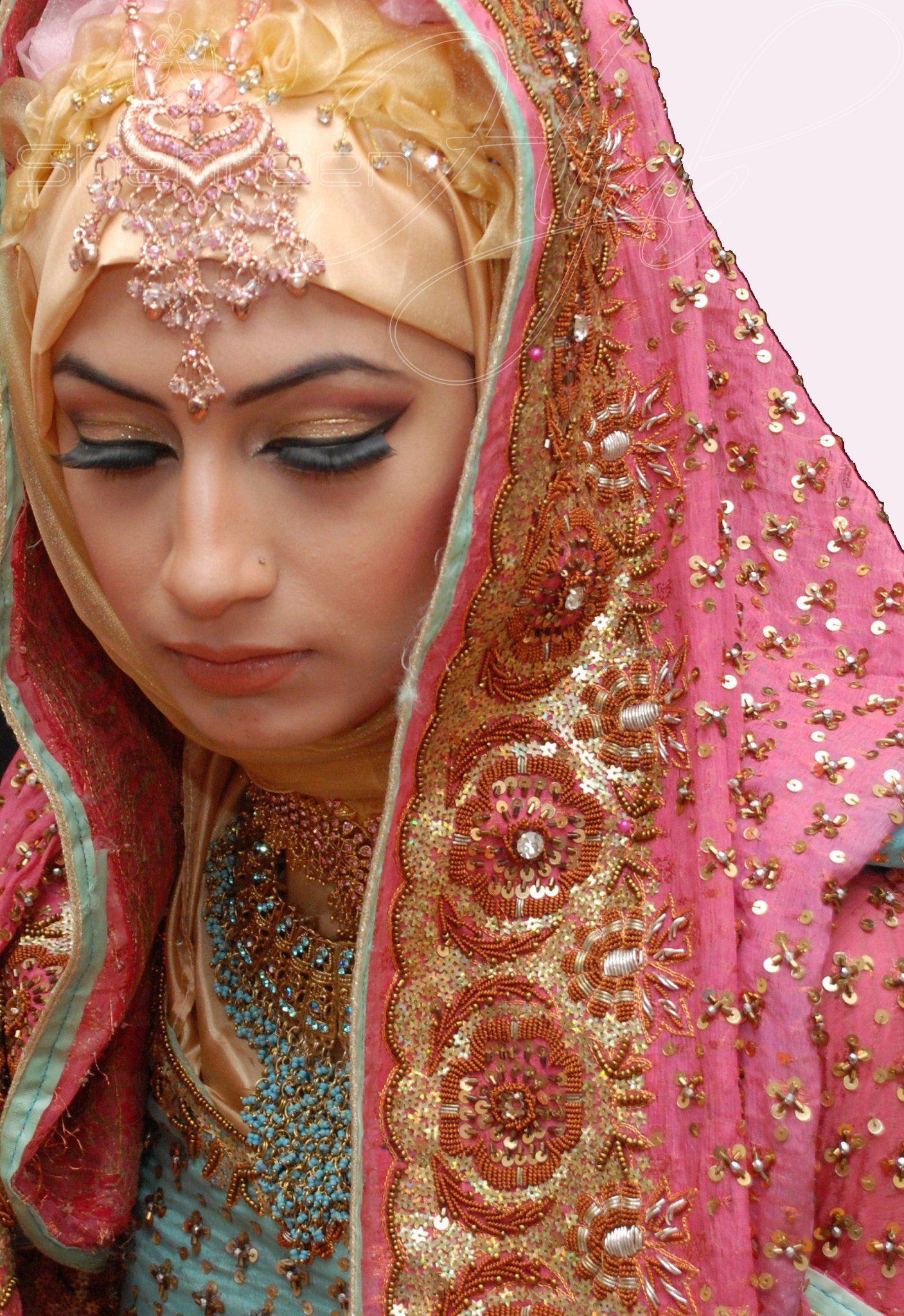 Shehreen Hijab Focus on the Asian Bridal Hijab