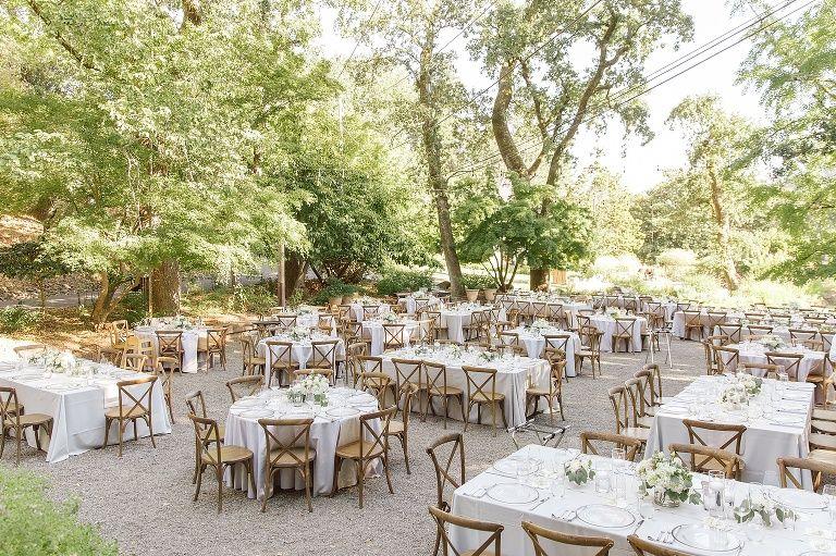Shannon & Dan's Marin Art & Garden Center Summer Wedding