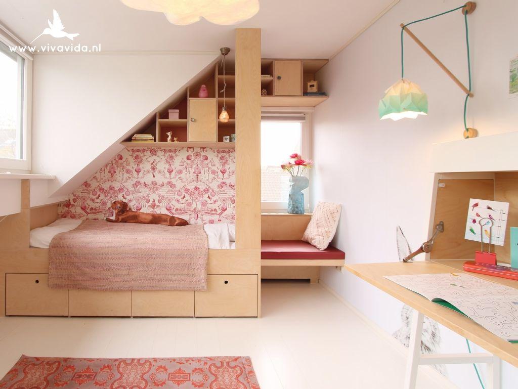 Chambre D Enfant Sur Mesure Sous Les Combles Interiordesign