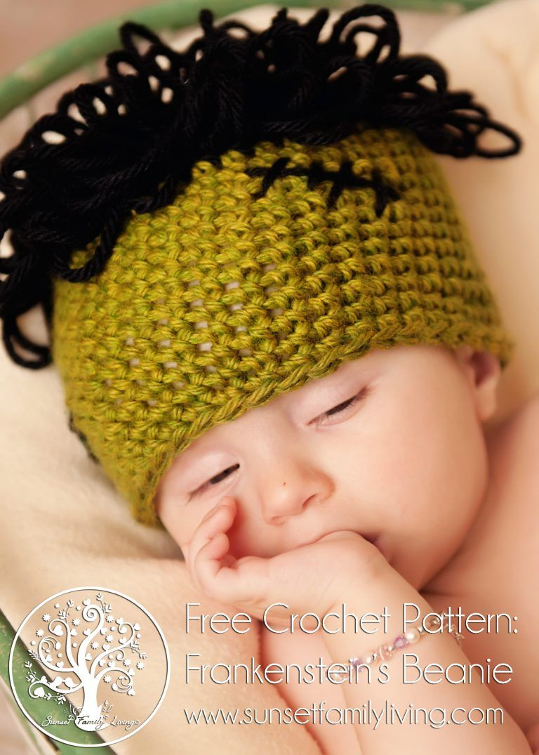 Frankenstein beanie free crochet pattern halloween crochet frankenstein beanie free crochet pattern halloween crochet crocheted costume bankloansurffo Image collections