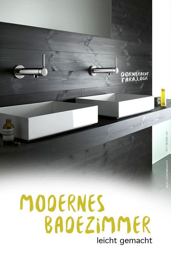 Gestalten Sie ein modernes Badezimmer mit Armaturen zum
