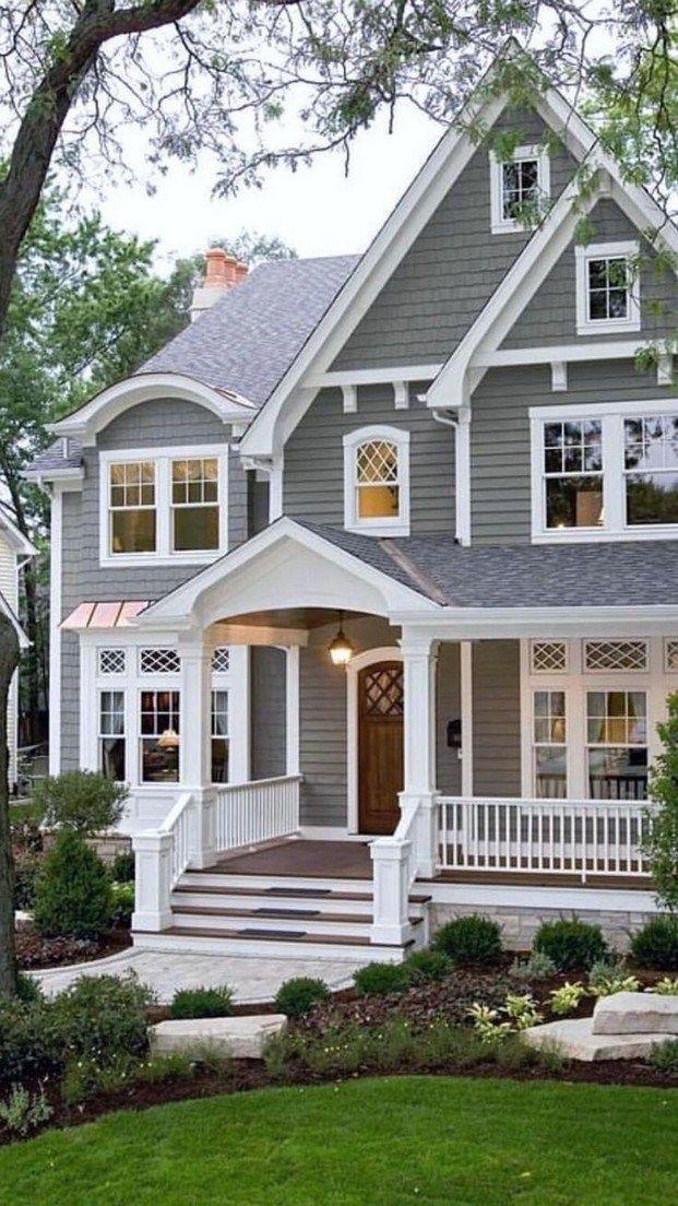 44 Stunning Dream House Exterior Design Ideas You Can Reach Housedesign Best Exterior House Paint Exterior House Paint Color Combinations House Paint Exterior