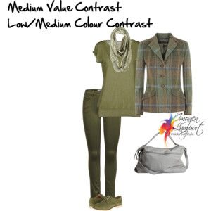 medium value low/medium colour contrast