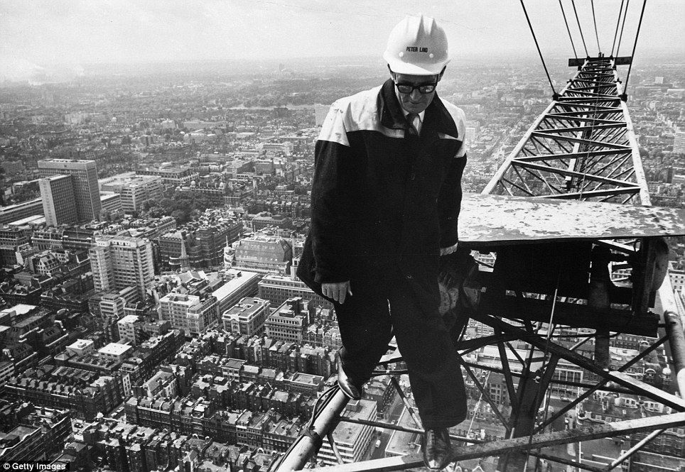 Britains iconic bt tower is celebrating 50 years