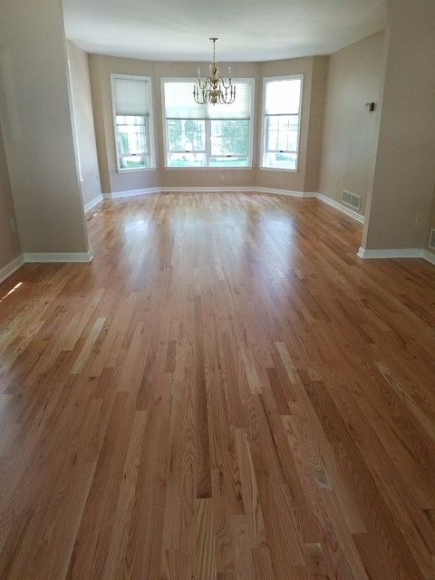 Charming Hardwood Install Finish Installed 2 1 4 Red Oak Hardwood Finished Oak Hardwood Floors Kitchen Wood Floors Wide Plank Natural Oak Hardwood Flooring