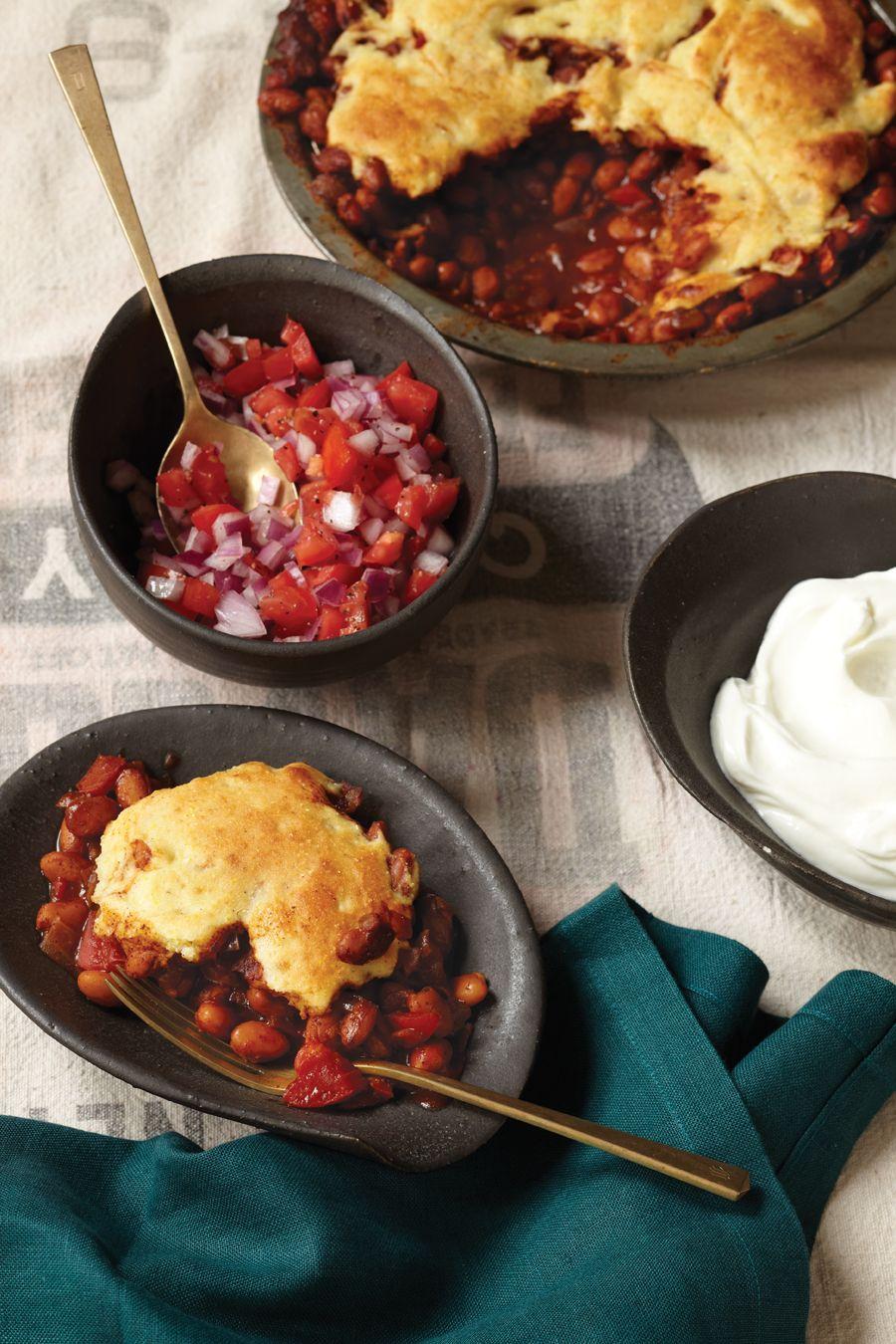 Cornbread And Pinto Bean Shepherds Pie