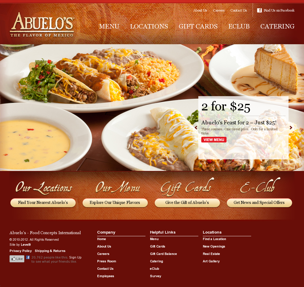 Abuelos Mexican Restaurant Website You Instantly Start Craving Mexican Food Mexican Food Recipes Parpadelle Recipes Food