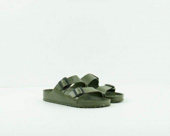 Sandalia Verde Hombre 129493 Arizona Vista Sandals Birkenstock vm0wN8n